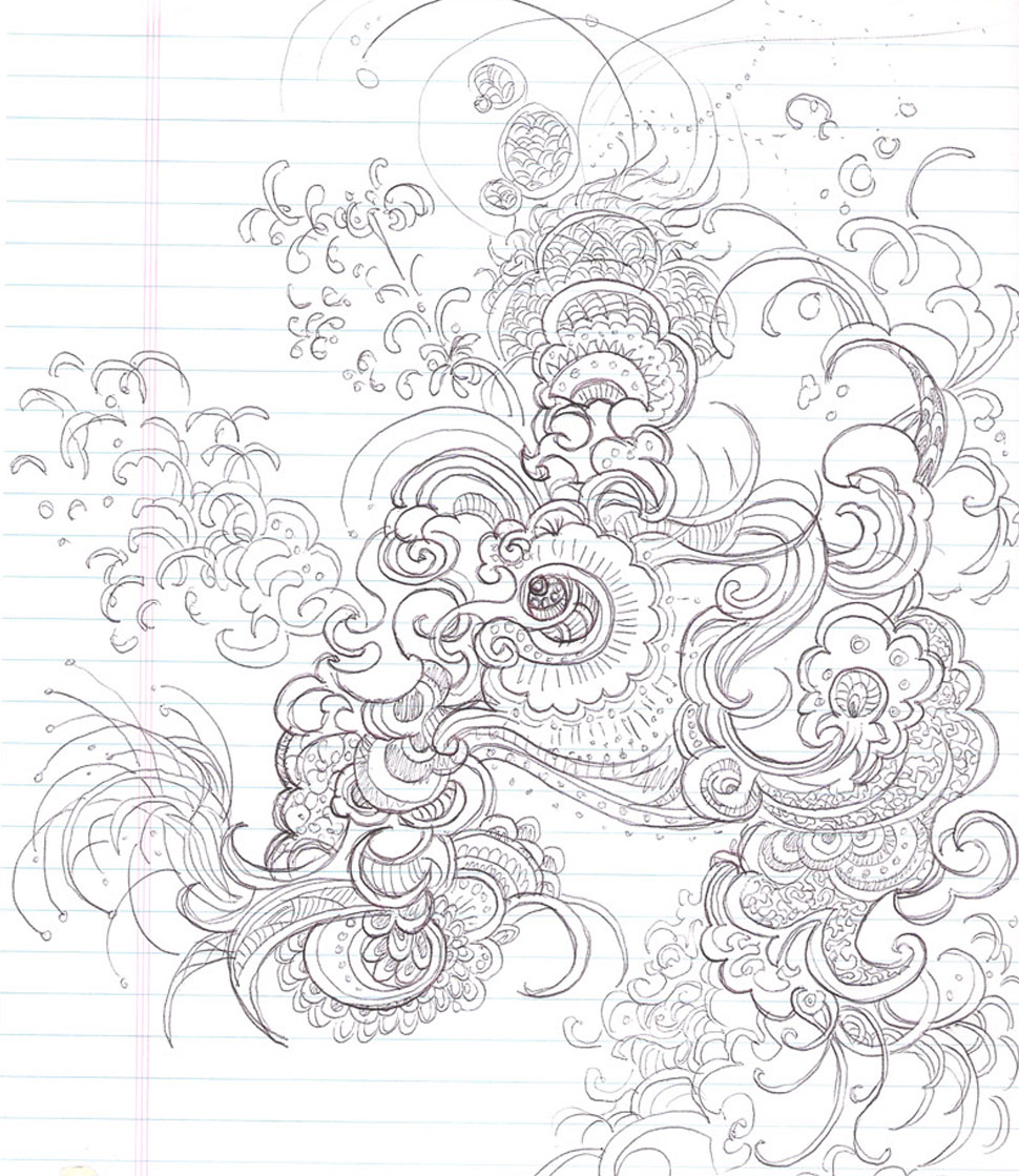 Abstract Peacock Sketch peacock -lg3.jpg
