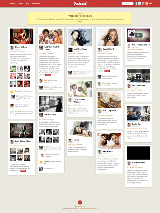 pinboard screenshot